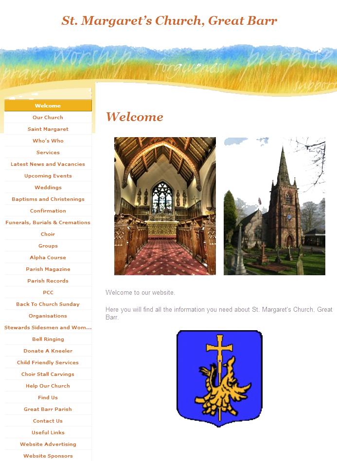 St Margarets Church of England Website